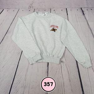 jerzees light gray boys medium sweatshirt